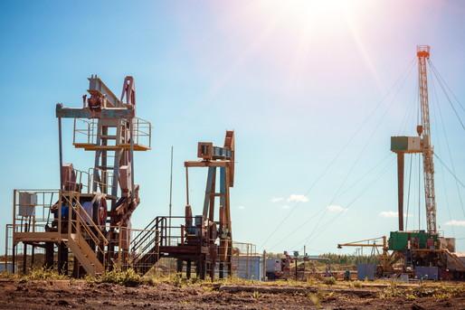 石油採掘場