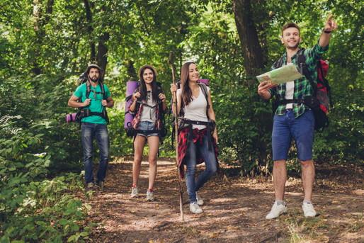 森の中でツアー