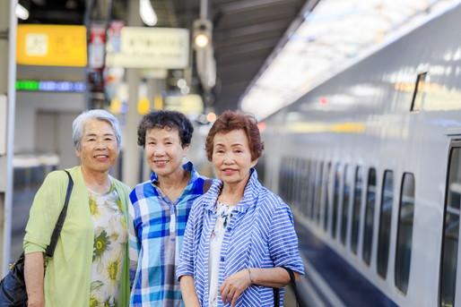 新幹線で国内旅行