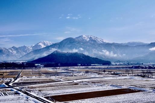 新潟 山 雪