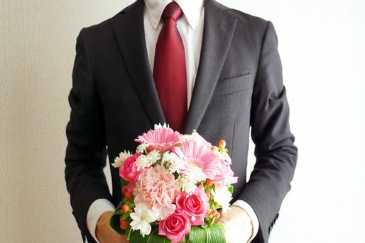 退職の花束