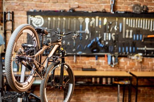 自転車メンテナンス