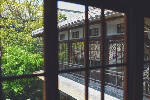 古民家の窓