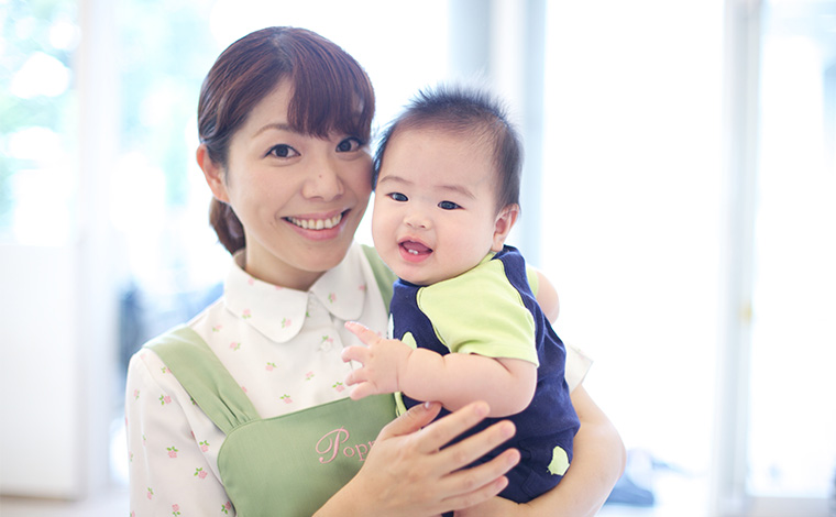 ポピンズナーサリースクール小机結構、出産など将来を見据えて長く働きたい方歓迎。ライフステージに合わせた働き方が出来ます。
