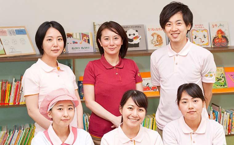 太陽の子 中野中央保育園月給23.5万円~!一人ひとりの個性に合わせた保育を行っています