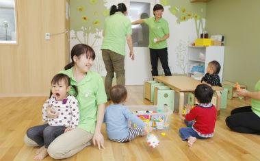 ウィズブック保育園東高円寺結果重視ではなく、探求しようとする過程を大切にした保育を行っています。