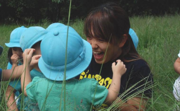 若手保育士が活躍中!豊かな自然を活かした保育を行っています。