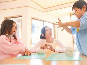 専門講師による、体育指導や英語指導などが行われている保育園です。