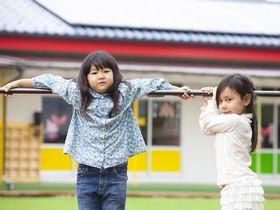 各年齢に合わせた教室がある御陵前駅から3分のところにある保育園です。