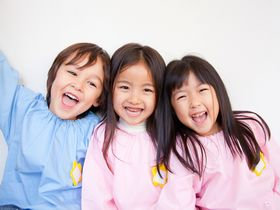 健康な子、みんなと楽しく遊べる子、心豊かな意欲的な子を育みます