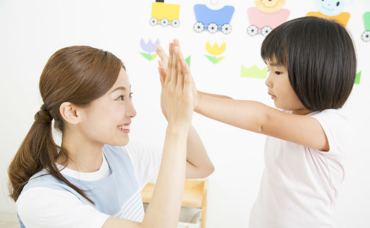 恵まれた自然環境のなかで、子どもの個性を大切にした教育を行っています。