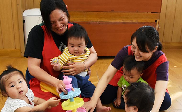 充実した福利厚生や、他にはない好待遇が自慢の保育園です。