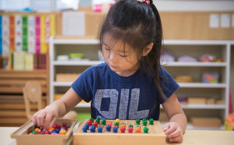 アイン千種保育室モンテッソーリと自由保育で、子どもの「自分を伸ばす力」を育てます。