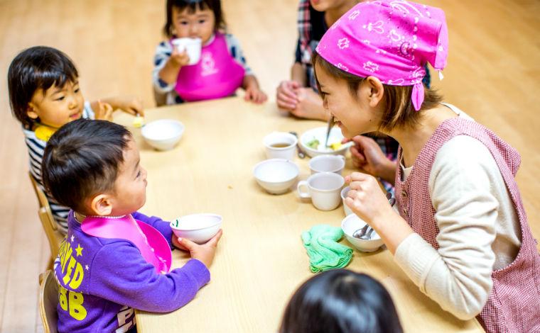 アイン金沢文庫保育園子どもたちの伝えたいことが、しぐさや表情で分かることに喜びを感じています。