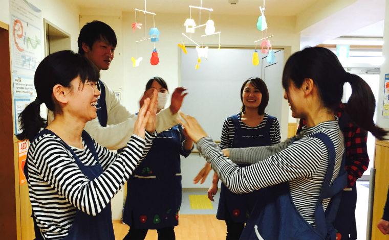 アイン松本町保育園様々な研修会を通して、保育の力とともに人間力も高められる環境です。