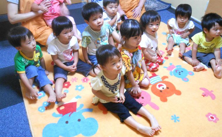 ほしの子愛児園家庭や地域と連携し、明るく笑顔の絶えない保育園を運営しています