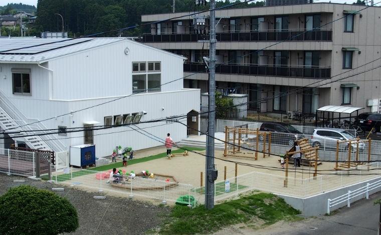 岩切保育園仙台市内に5園運営している、地元密着の小規模認可園です