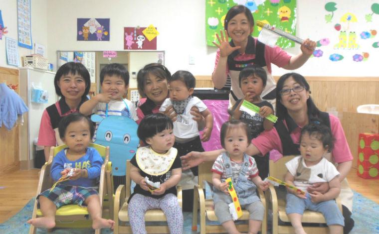 子どもと保育士の笑顔溢れる保育園。スキルアップも目指せる環境です!