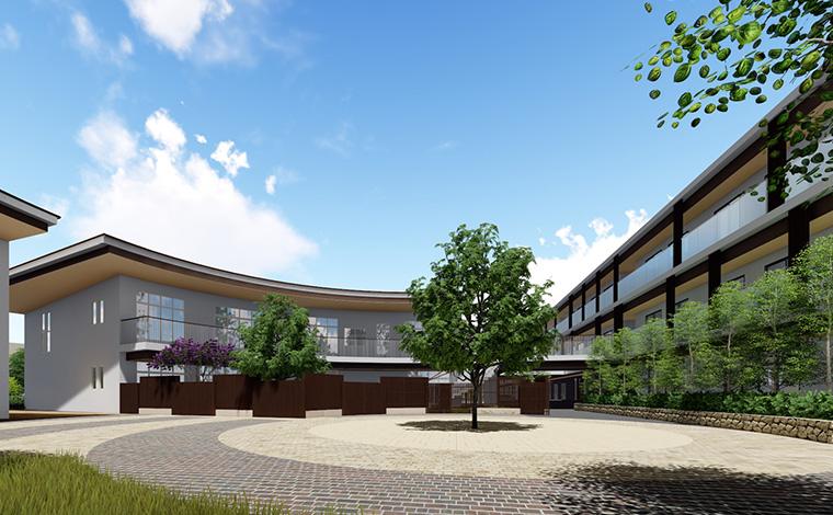 新浦安きらきら保育園スターツグループ大規模プロジェクト「タイムレスタウン」内の定員69名の保育園です