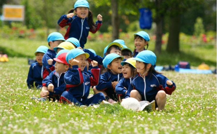 札幌きたの幼稚園充実の教育カリキュラムが自慢!明るく活気あふれる幼稚園です。
