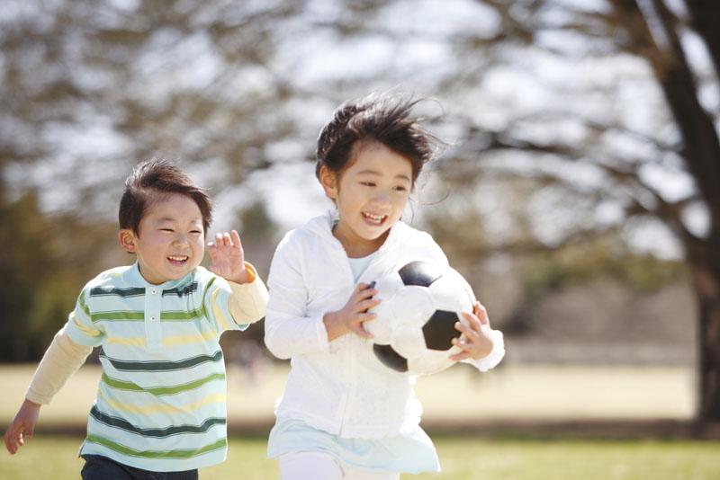 心と身体の調和がとれた人間形成のための保育を行なっている保育園です。