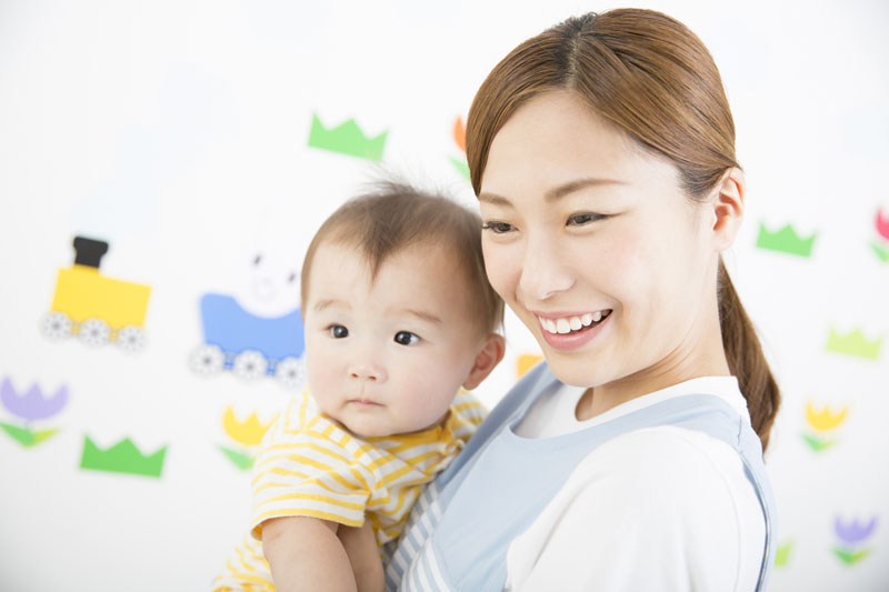 明るい笑顔と優しい心のある子供に育つための保育を目指しています。