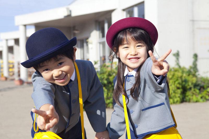 子ども達をいい環境の中で育み、明るく健やかな心身の発達を目指します。