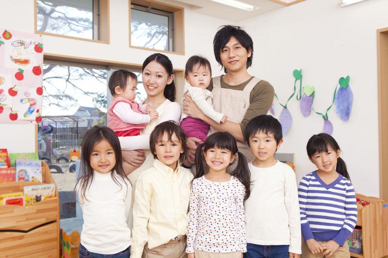 アットホームな雰囲気でご家族と一緒に協力して保育しています。