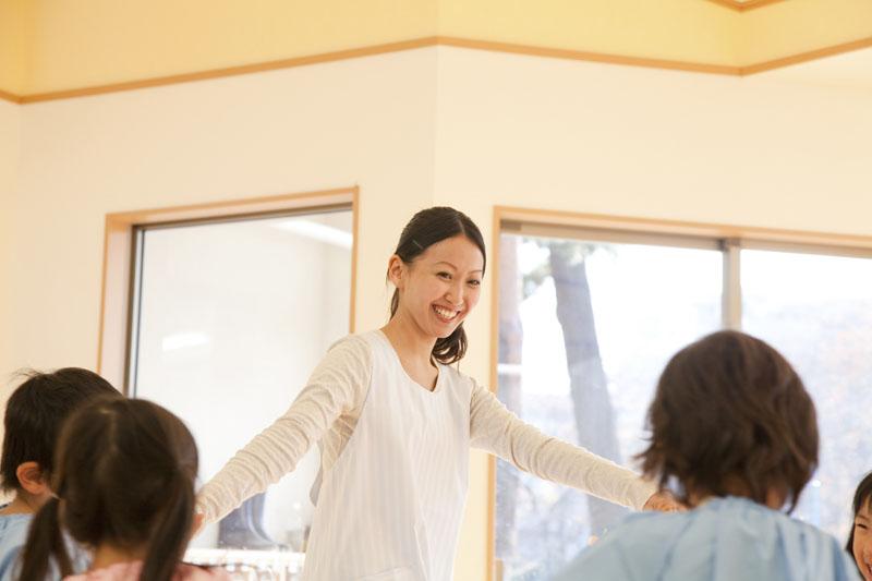 日本の伝統を大切にしていて四季折々のイベントを行う幼稚園です。