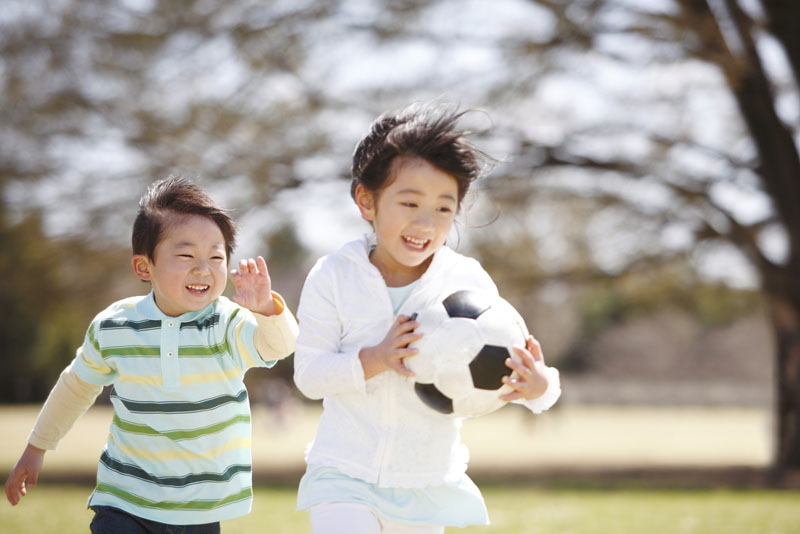 キリスト教の精神で、子どもの個性を尊重し伸ばす保育をしています。