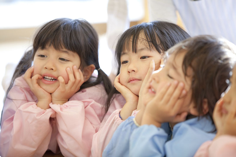 一人ひとりに定められた担当制保育で子供の健やかな成長を促しています