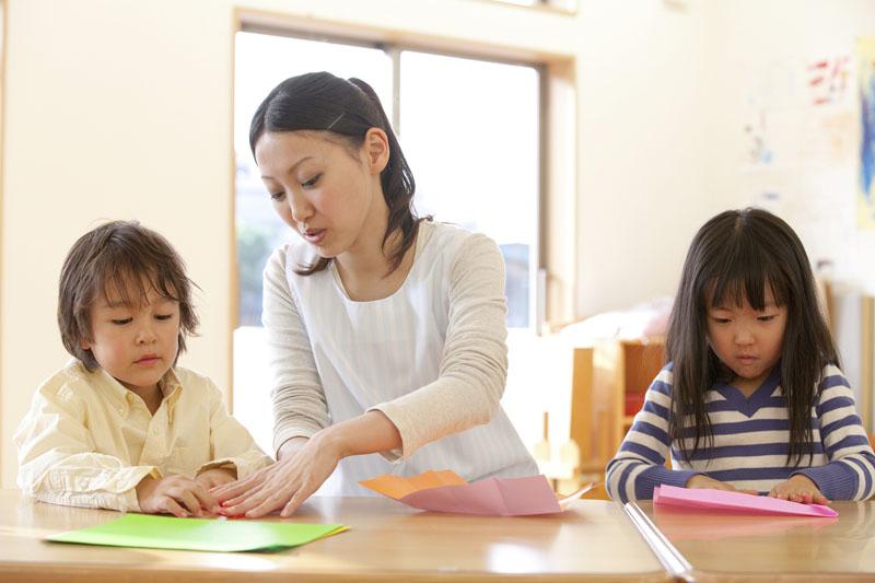 0歳児からも安心して預けられる、幅広い年齢に対応している保育園。