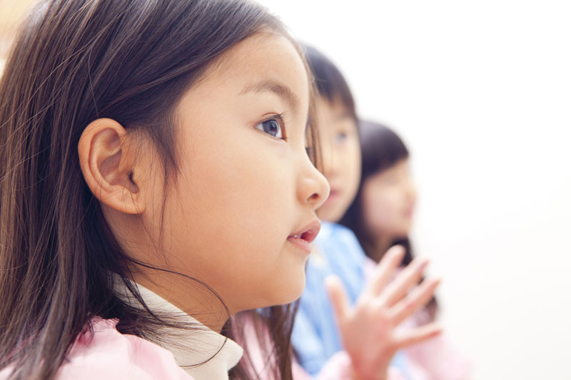 アットホームな雰囲気の中で、子どもたちをのびのびとすごさせる
