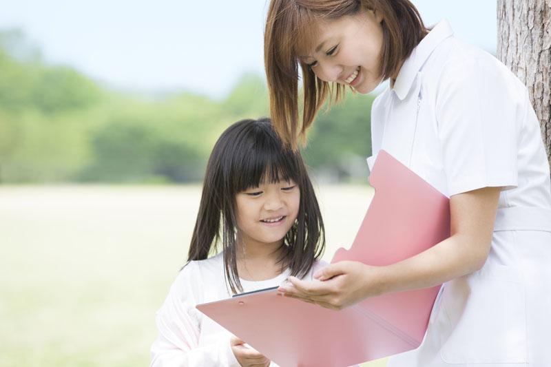 ほがらか、いきいき、たくましくを教育理念に健やかな心身を育みます。