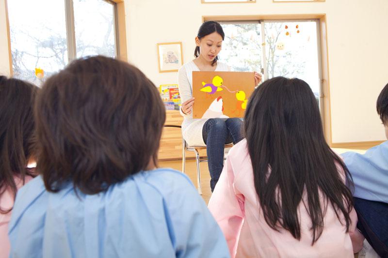 鴨ヶ辻山の豊かな自然の中で、感性豊かな元気な子どもたちを育みます。