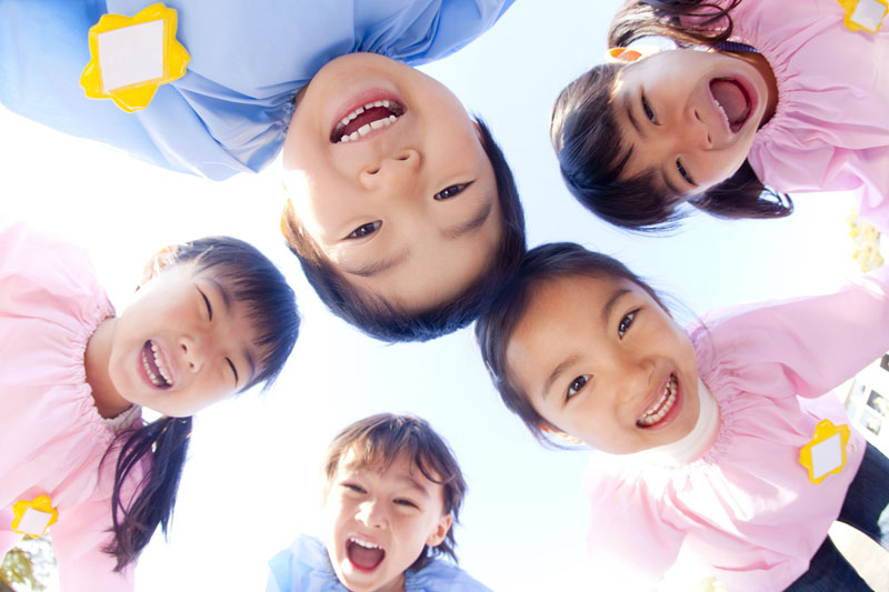 子ども達に対して、愛情のある躾をしながら信頼関係を築いています。