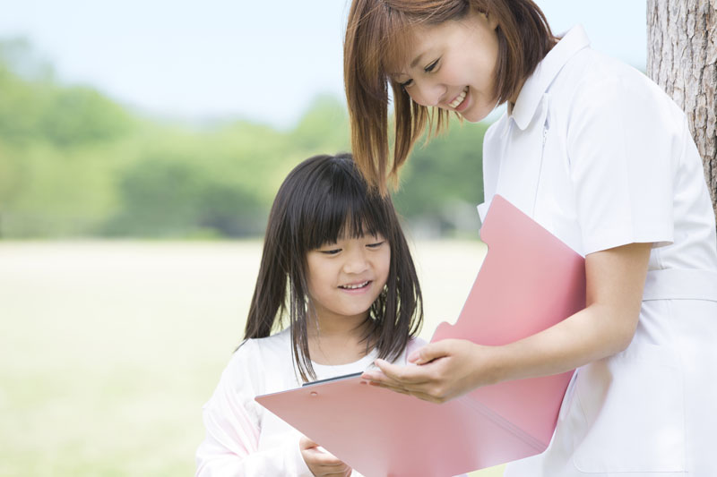 子どもの心と体を育てる、知育・徳育・体育のバランスを培います。