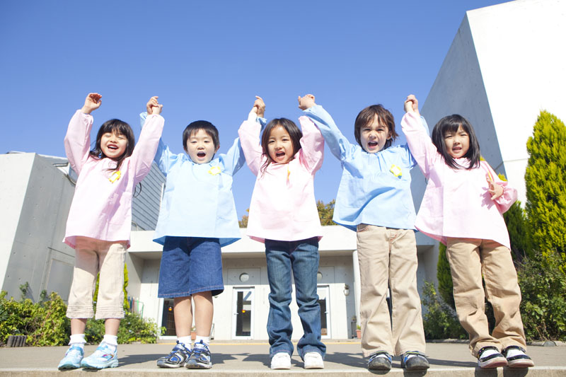 恵まれた地域環境を生かして子供たちの生きる力を育む幼稚園です。