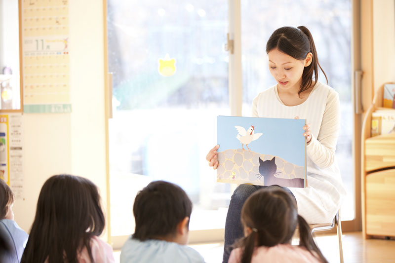 団体行動の中で「よりよく生きる力の基礎を育てる」事を目標とした保育園。