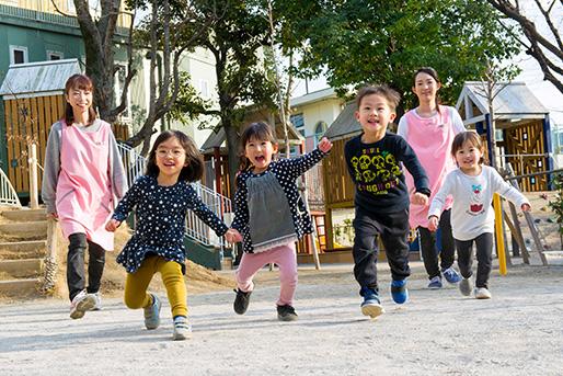 社会福祉法人旭川荘 ゆずりは保育園(岡山県岡山市北区)