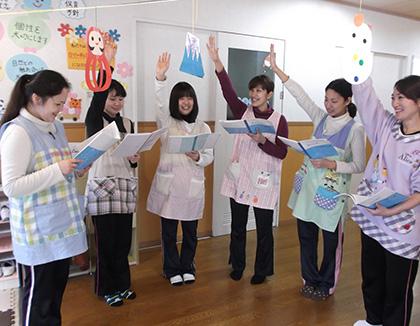 広島大学病院こすもす保育室(広島県広島市南区)の様子