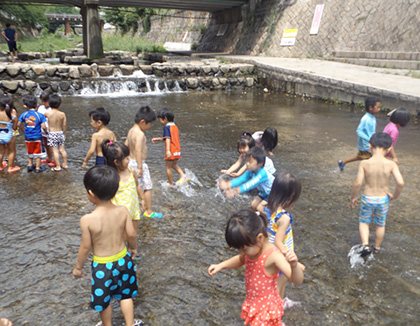 武蔵中原もりのこ保育園(神奈川県川崎市中原区)の様子
