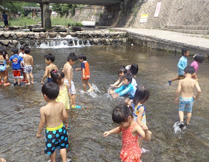 まなびの森保育園新城(神奈川県川崎市中原区)の様子