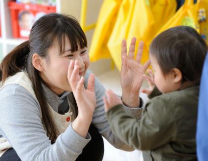平和ちとせ保育園(福岡県福岡市南区)の様子