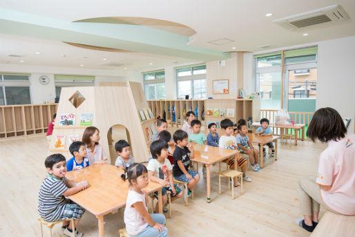 太陽の子新小川町保育園(東京都新宿区)