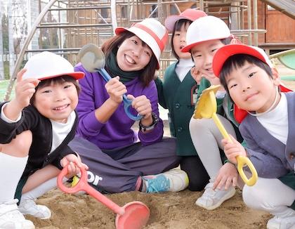 認定こども園桑ノ木幼稚園(兵庫県神戸市西区)の様子