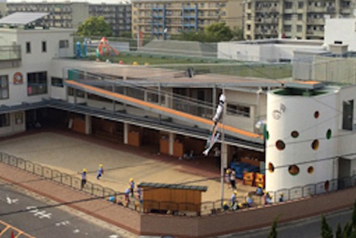 城浜保育園(福岡県福岡市東区)