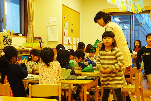 小学館アカデミーかみおおおか保育園(神奈川県横浜市港南区)