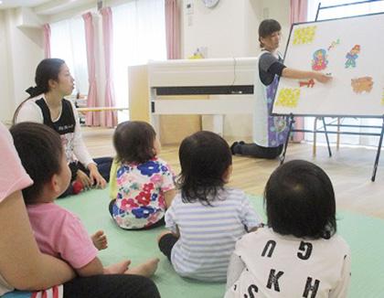 もりのなかま保育園二島園(福岡県北九州市若松区)の様子