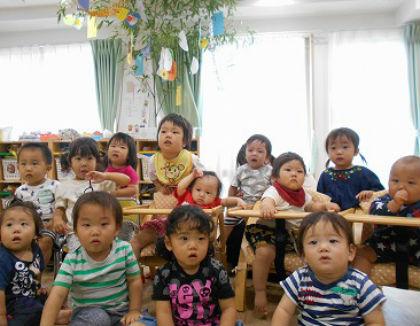 もりのなかま保育園二島ひよこ園(福岡県北九州市若松区)の様子